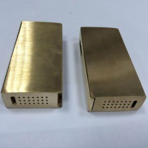 CNC Machining Aluminum Cover for Electronic Cigarettes pictures & photos