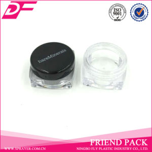 Plastic Cosmetic Jar for Transparent Bottle Colorful Bottle Cover