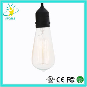 St64 Tungsten Filament Incandescent Bulb Retro Style Lighting pictures & photos