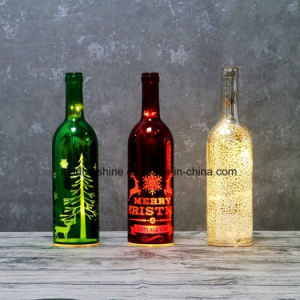Perfect Christmas Gifts Starlight Bottle Glass Light up Sentimental Message Bottles pictures & photos