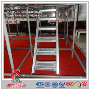 Hot DIP Galvanized Surface Scaffolding Ladder with Factory Price pictures & photos