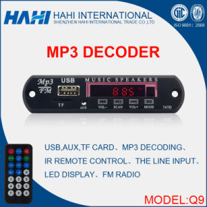 MP3 FM Radio Record Player Module for China-Q9 pictures & photos