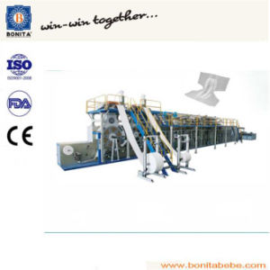 Frequency Adult Diaper Manufacture Machine /Production Line (BNT-AD-10)