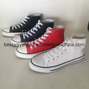 Classic Canvas Shoes with Rubber Outsole pictures & photos
