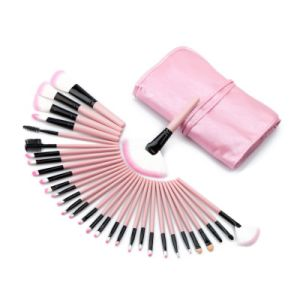 Wholesale 32PCS Pink Professional Complete Cosmetic Makeup Brushes Set pictures & photos