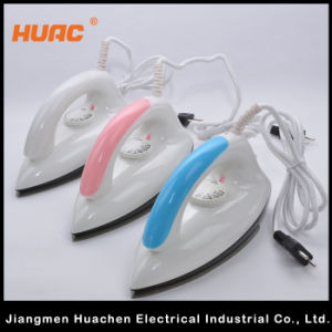 Hot Sale Electric Dry Iron Home Appliance Pink pictures & photos