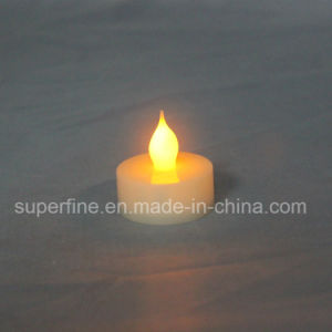 Church Decorative Flameless Battery Operated Pillar LED Artificial Tealights pictures & photos