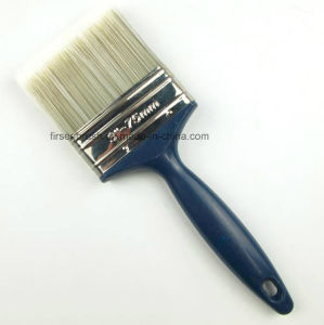 Different Sizes Quality Polyester Synthetic Filament Paint Brush Set with Plastic Handle pictures & photos