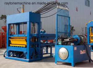 Concrete Block Machine Automatic Cement Hollow Brick Making Machine of Qt5-15 pictures & photos
