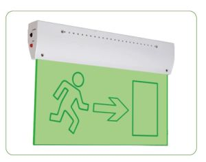 IP42 0.9W Battery LED Emergency Exit Sign pictures & photos