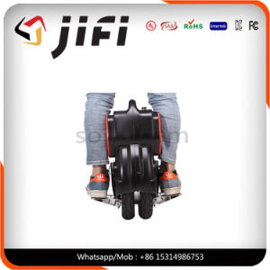 Newest Design Double Tyre Electric Unicycle, Scooter Can Add Cushion pictures & photos