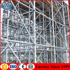 Safe Assembly Layher Ringlock Scaffolding Project pictures & photos