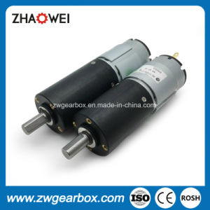 32mm 12V Small DC Geared Motor with Planetary Reduction Gearbox pictures & photos