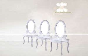 High Quality Stainless Steel Modern Salon Mirror Station (K2828B) pictures & photos