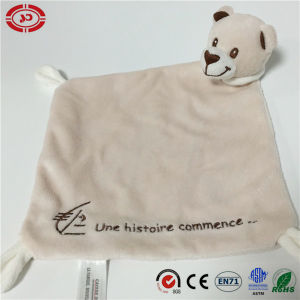 Baby Care Fancy Quality Soft Gift Blanket with Bear Head pictures & photos