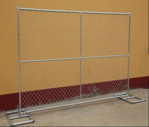 6FT*12FT Chain Link Portable Temporary Fence/Temporary Fencing Panel pictures & photos