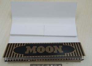OEM Brand /Moon Brand Gold King Size Slim +Tips Rolling Paper pictures & photos