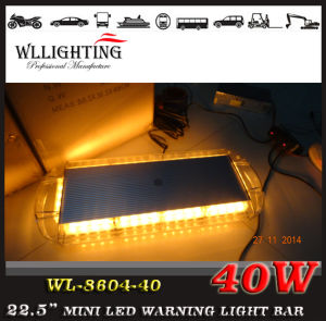 High-Intensity Amber LED Mini Light Bar with Magnet Mount pictures & photos