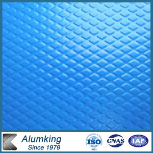 Embossing Blue Color Coated Aluminum Coils pictures & photos
