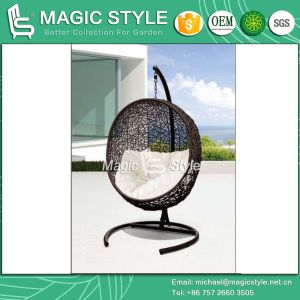 Balcony Swing Hammock Chair Hanging Chair Rattan Swing Wicker Swing Leisure Swing (Magic Style) pictures & photos