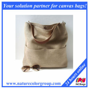 Water -Resistant Durable Waxed Canvas Tote Bag pictures & photos