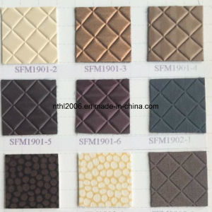 PU Leather Emboss PU Decorative Leather for Bag (HL-49) pictures & photos