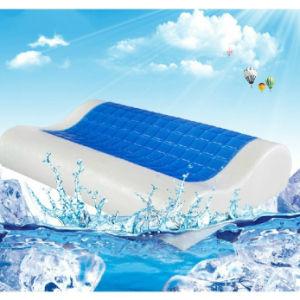 Visco Elastic Gel Memory Foam Contour Pillow pictures & photos