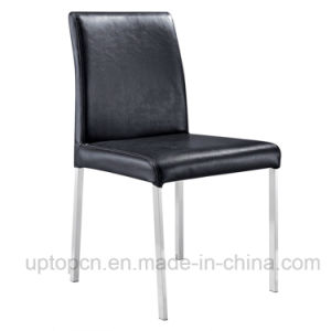 Wholesale Event Banquet Dining Room Black Leather Chair (SP-LC242) pictures & photos