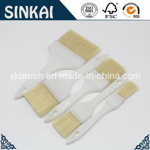 Good Quality White Plastic Handle Filament Paint Brush pictures & photos