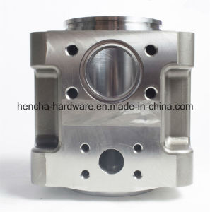 CNC Machining for Center Block, Hxx Water Pump
