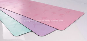 Easy to Clean PU Fitness Yoga Mat pictures & photos
