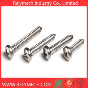 Phillips Pan Head Self-Tapping Screw in Stainless Steel 304 pictures & photos