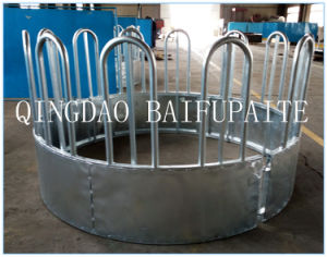 Galvanized Heavy Cattle/Horse Round Bale Feeder / Feed Ring pictures & photos