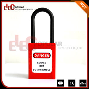 Promotional Product Cheap Safety Lockout Padlocks Thin Shackle 4.5mm Lock pictures & photos