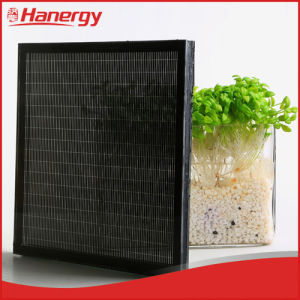 China Hanergy Bipv Thin Film Transparent Solar Panel
