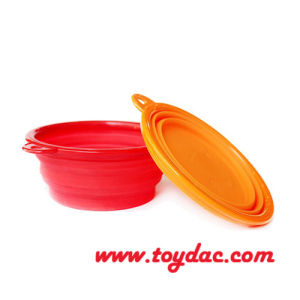 Color Silicone Fold Pet Bowl pictures & photos