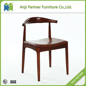 Retardant Foam and Nordic White Wax Wood Dining Chair (Anastasia) pictures & photos
