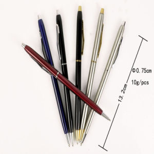 Slim Cross Metal Ball Pen for Promotion pictures & photos