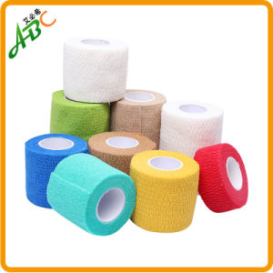 ABC Medical Care Disposable Colorful Cohesive Self-Ahesive Elastic Crepe Bandage