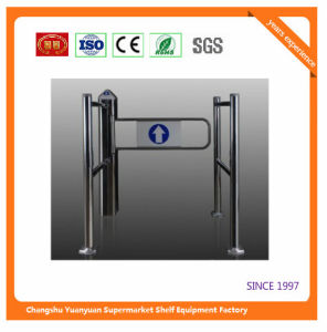 Fast Sales Automatic Double Swing Gate for Supermarket pictures & photos