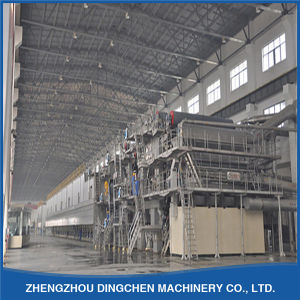 60tpd Printing Paper Making Machine That Use Wood Pulp as Material pictures & photos