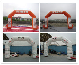 Air Tight Advertising Inflatable Finish & Start Arches pictures & photos