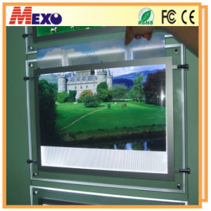 LED Backlit Picture Slim Snap LED Frame for LED Display pictures & photos