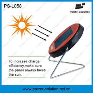 Portable 2 Years Warranty and Affordable Mini Solar Reading Lamp with LiFePO4 Battery (PS-L058) pictures & photos