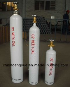 Medical Grade Steel High Pressure Gas Oxygen Tank pictures & photos