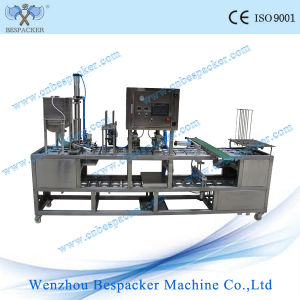 Automatic Plastic Jelly Cup Capsule Filling Sealing Machine pictures & photos