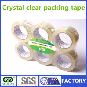 High Quality OPP Crystal Clear Tape for Carton Packing From Own Factory pictures & photos