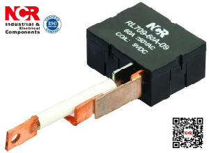 60A 1-Phase 48V Magnetic Latching Relay (NRL709A) pictures & photos