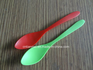 Plastic Dessert Spoon, Ice Cream Spoon pictures & photos