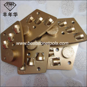 PCD-1 Trapezoid PCD Scraper Grinding Disc for Concrete Grinding